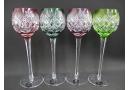 サンルイ カットガラス ワイングラス