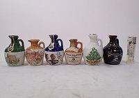 ミニチュアボトル 陶器 6本