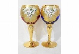 ムラーノ ペアワイングラス