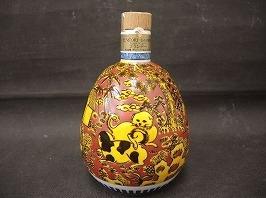 サントリースペシャルボトルコレクション 九谷焼竹鳳窯陶器ボトル