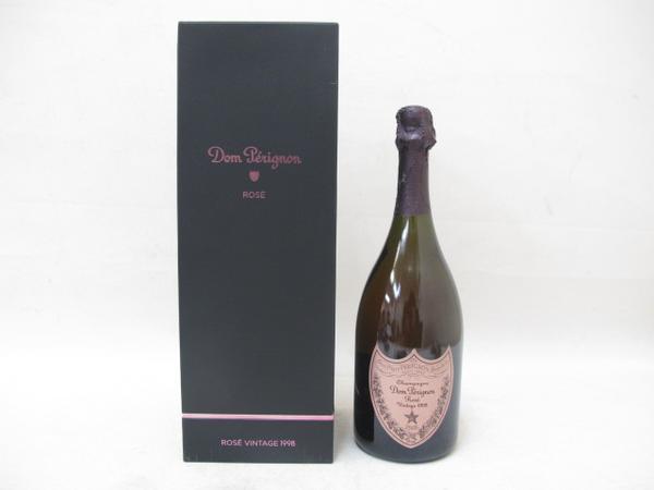 シャンパン ドンペリニヨン ロゼヴィンテージ 1998