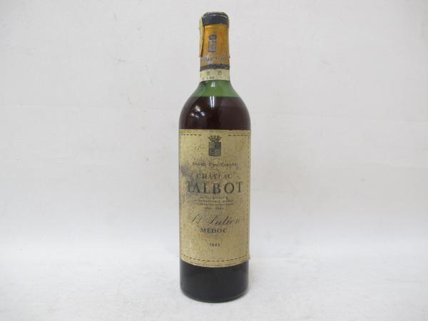 シャトー タルボ 1943