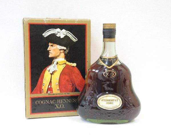 コニャック ヘネシー XO Hennessy 700ml 旧ラベル