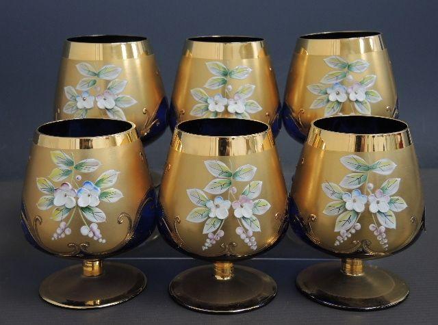 ボヘミア ブランデーグラス