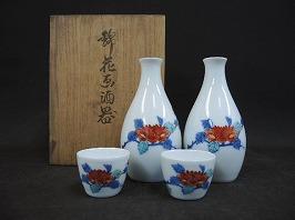 錦華画酒器 今泉陶園