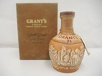 グランツ Grant`s 21年 ロイヤルドルトン製 陶器ボトル